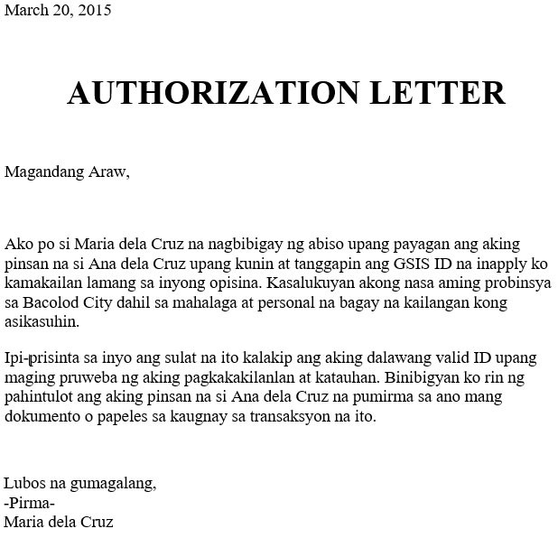 Native-Language-for-Authorization-Letter-To-Claim-GSIS-ID
