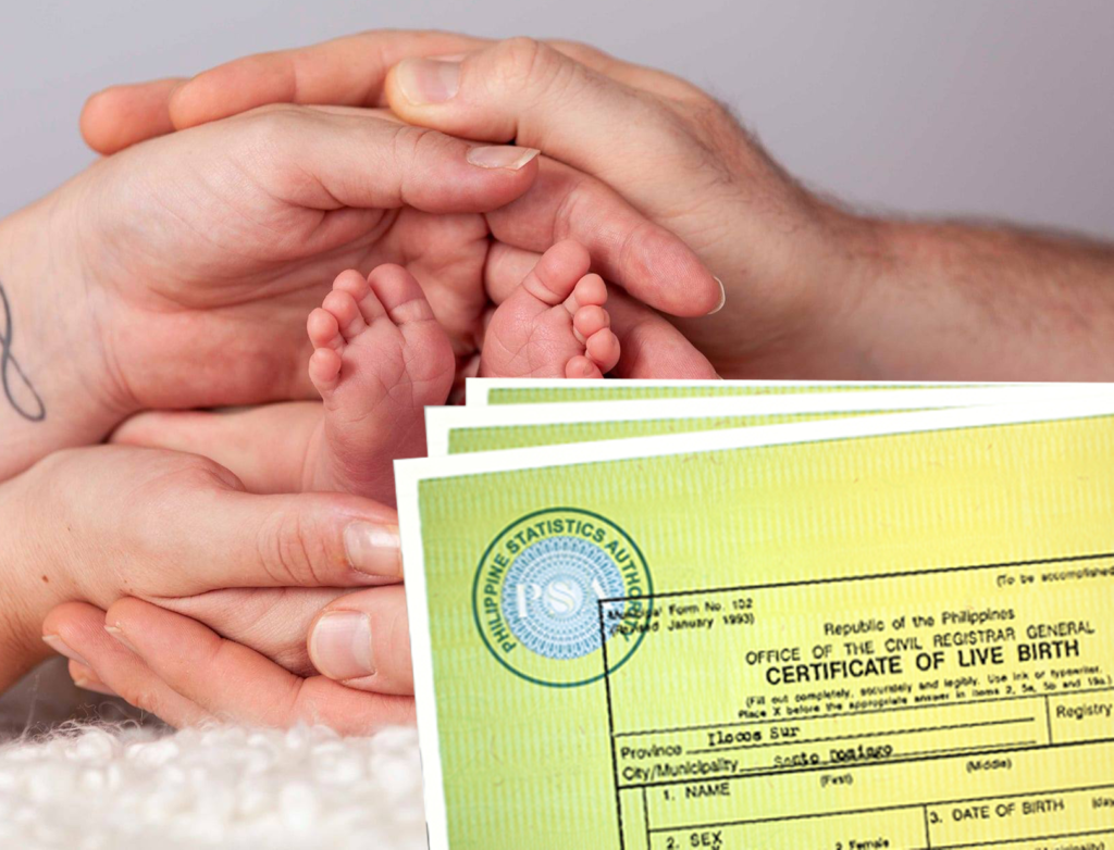 Authorization Letter to Claim PSA (Certificate Of Live Birth)